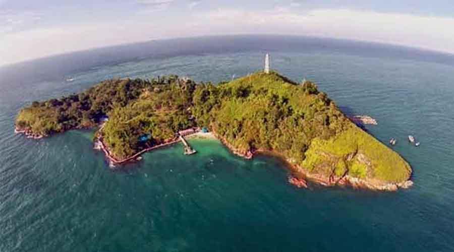 Pulau pandang yang memukau