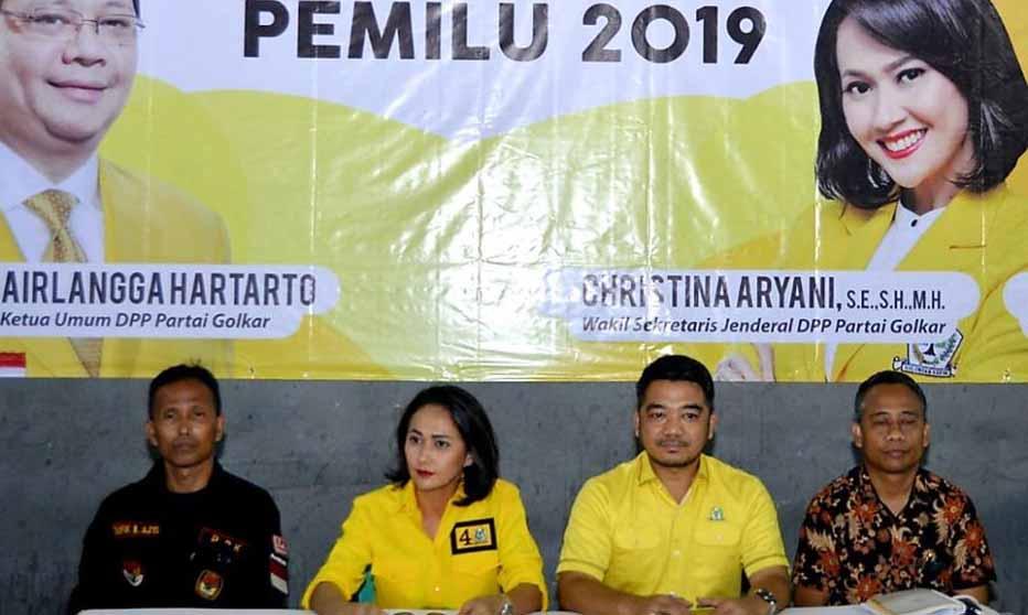 christina aryani pendidikan politik partai golkar